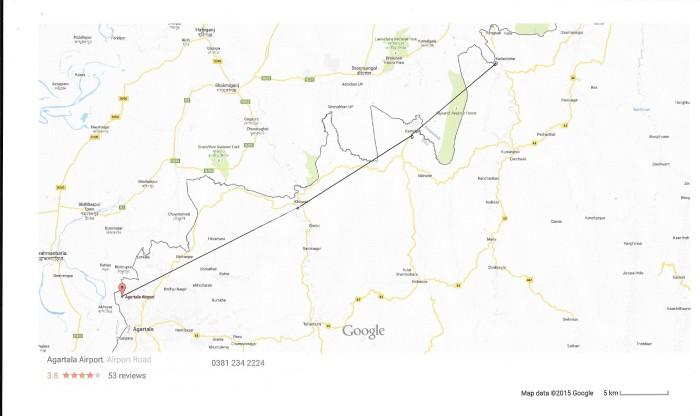Tripura map 001