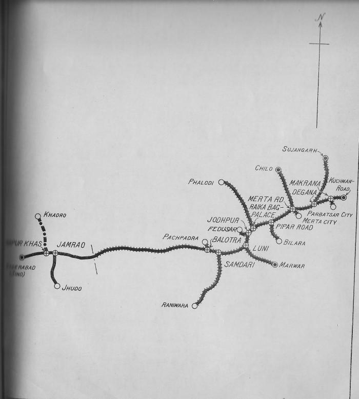 Jodhpur Railway in 1933