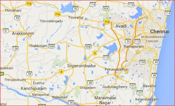 Chennai area