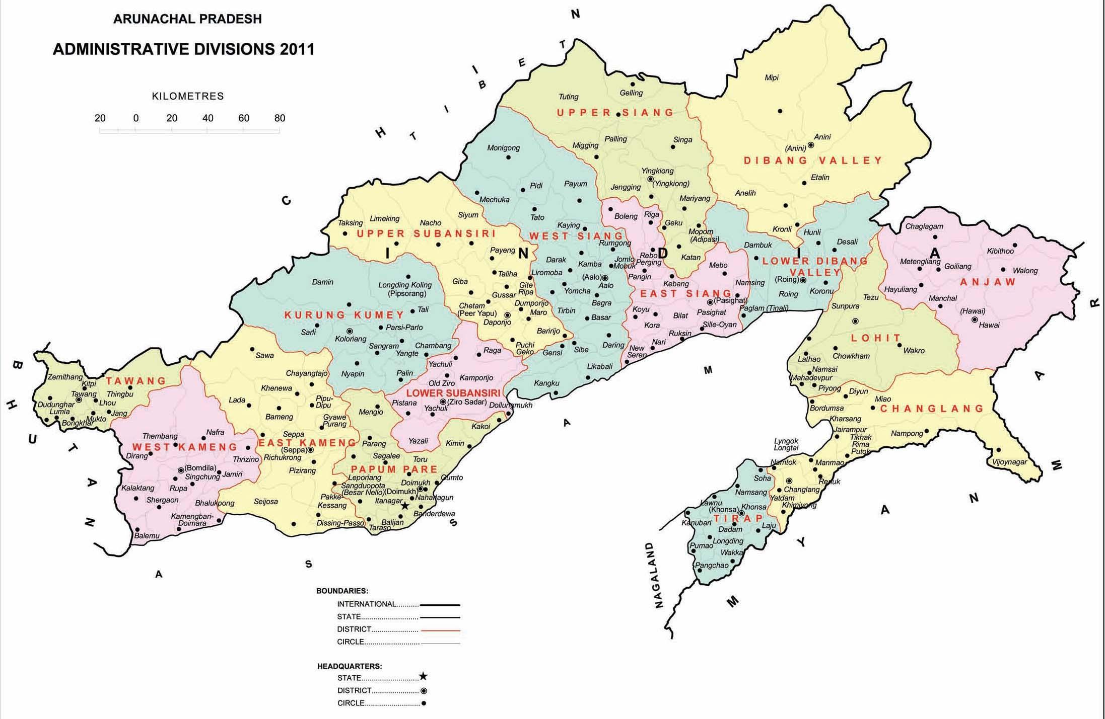 Arunachal 2011