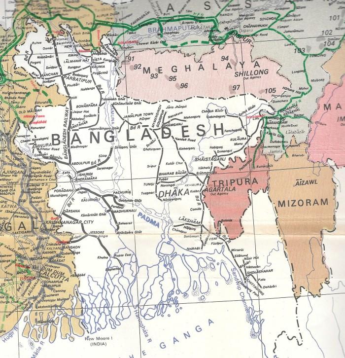 Bangladesh 1991 (SOI) 001