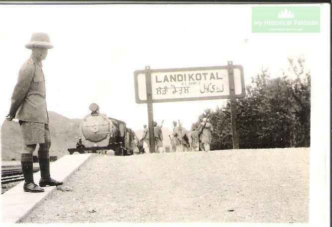 Landi Kotal Railway Station during British Raj