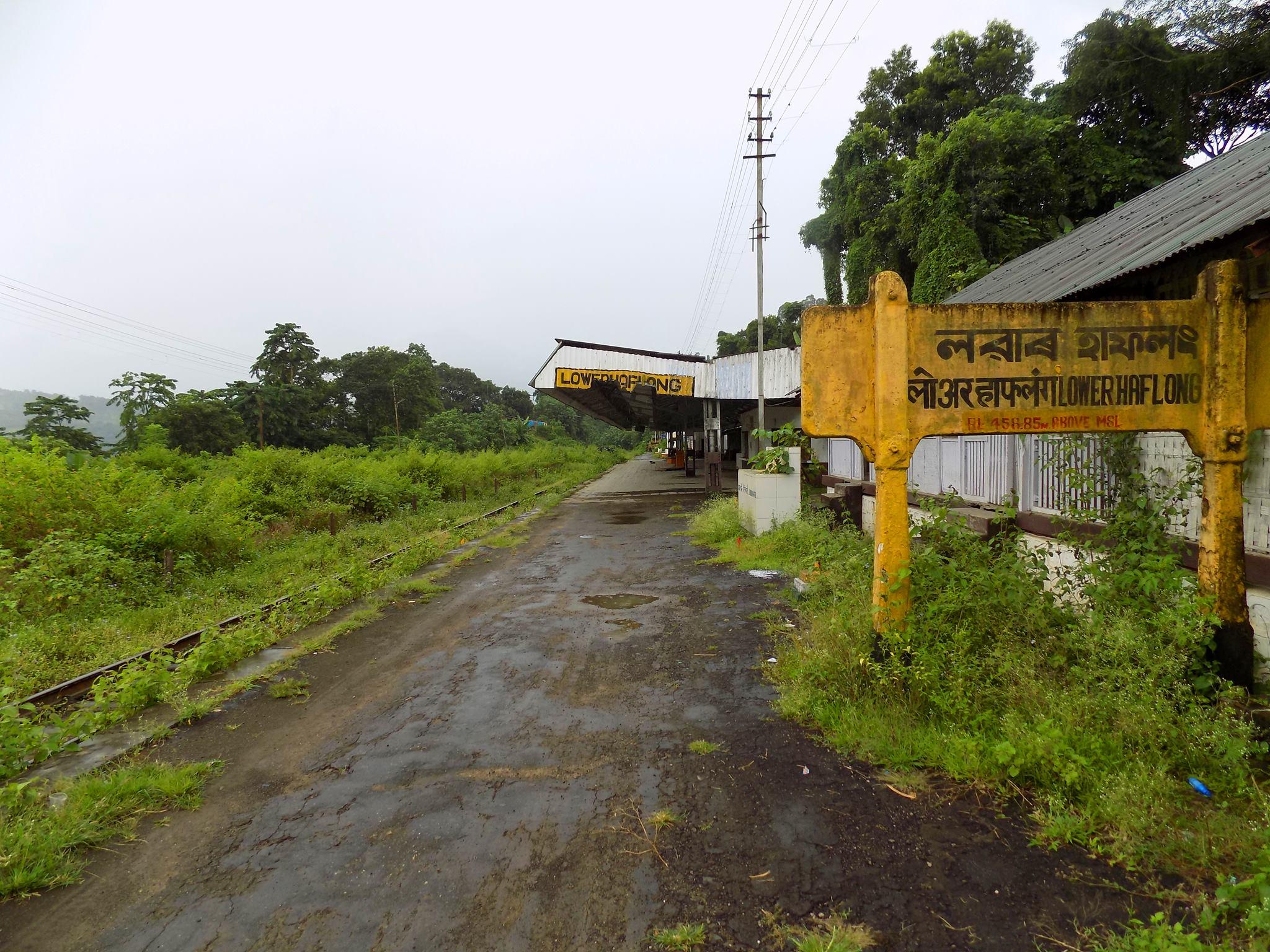 Lower Haflong closed