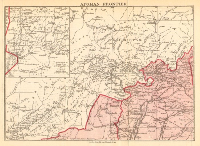 1903 Afghan Frontier by Murray