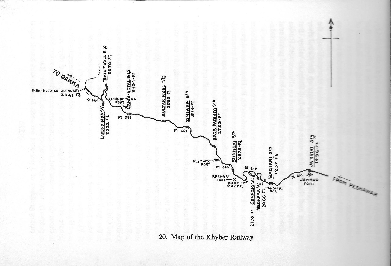 Khyber map