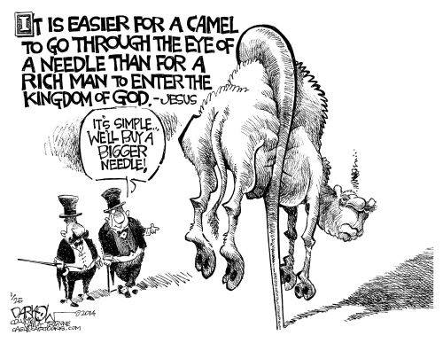 camel needle saying