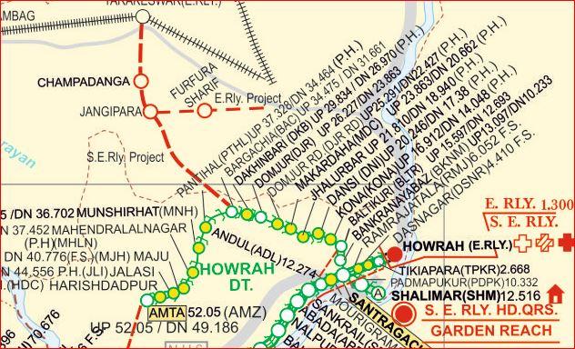 Howrah-Amta new