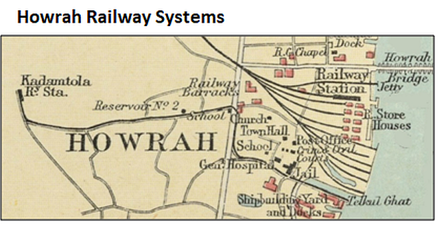 Howrah_Railway_Systems in 1909