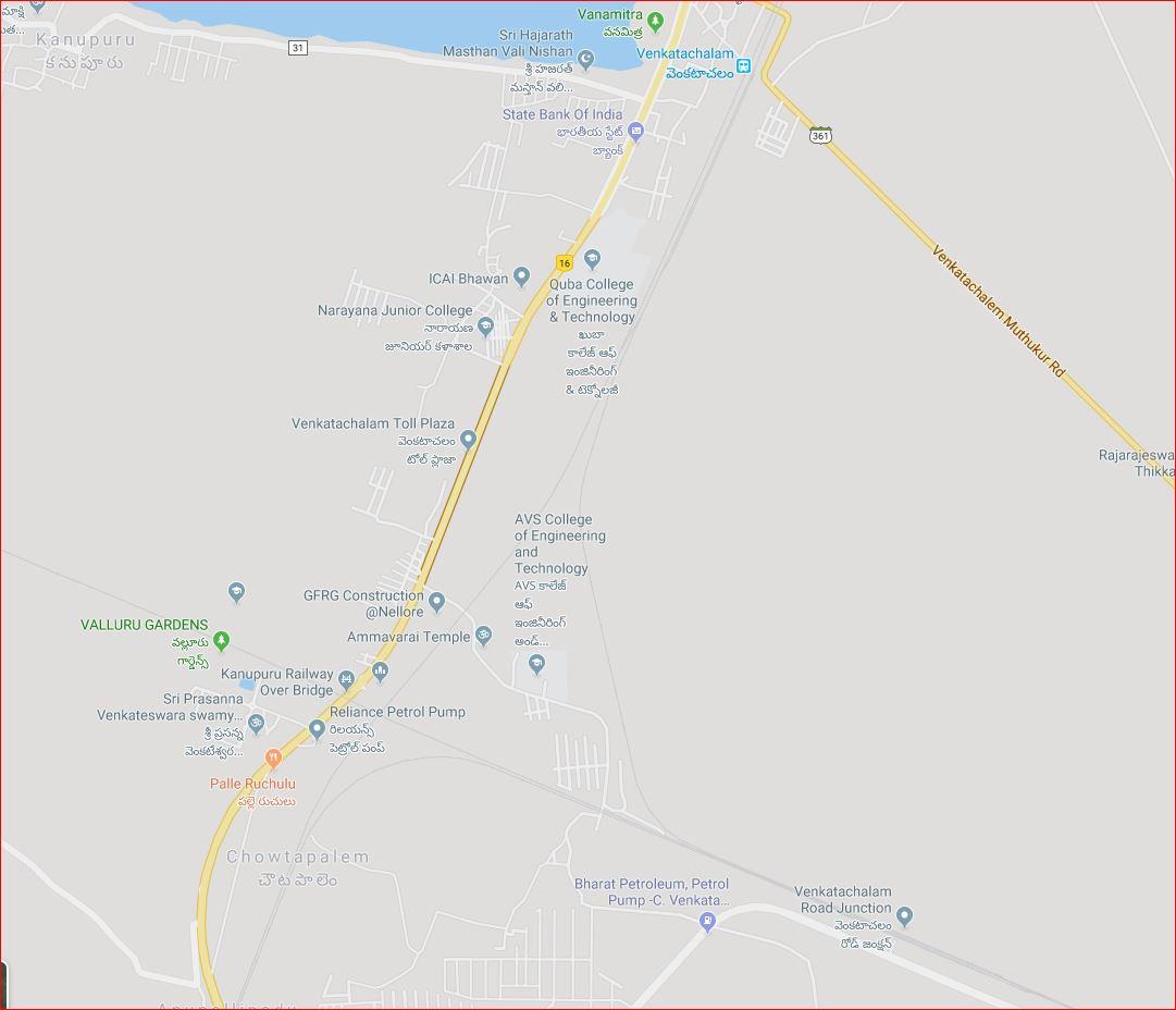 Obu-Kri line crossing
