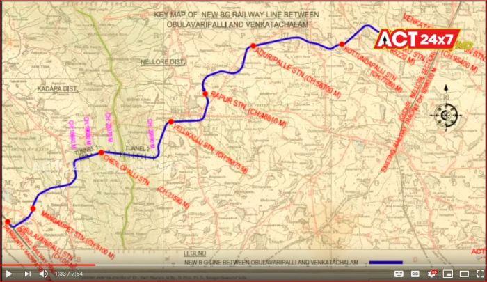Obula line map