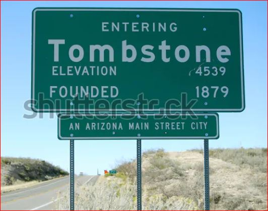 Tombstone sign 2